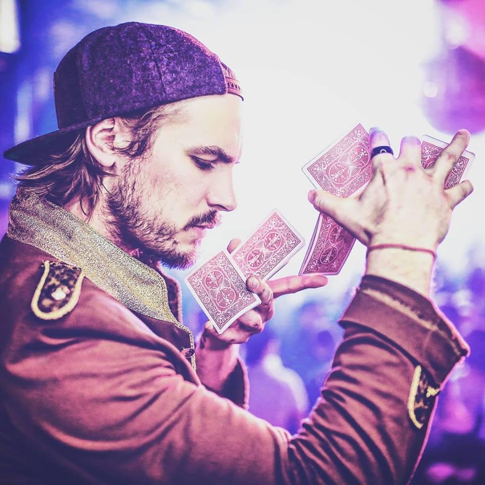Alexander Milz, Zauberer und Schauspieler