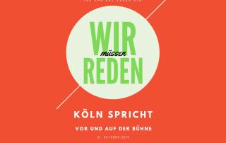 Köln spricht - vor und auf der Bühne